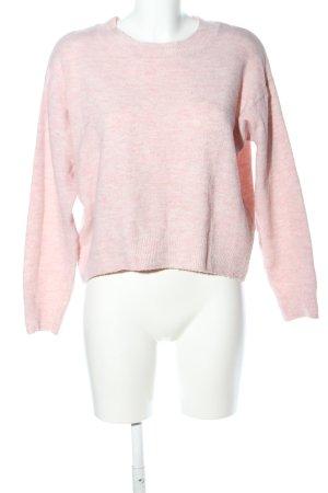 H&M Maglione girocollo rosa stile professionale