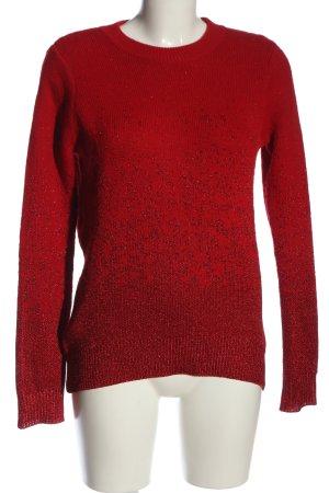 H&M Jersey de cuello redondo rojo look casual