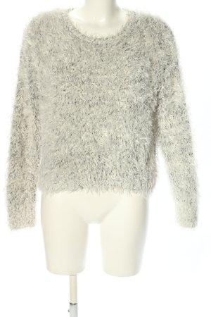 H&M Rundhalspullover hellgrau Casual-Look