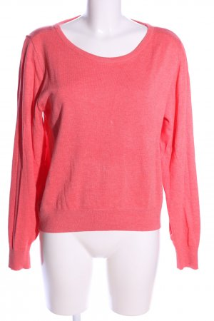 H&M Rundhalspullover pink Casual-Look