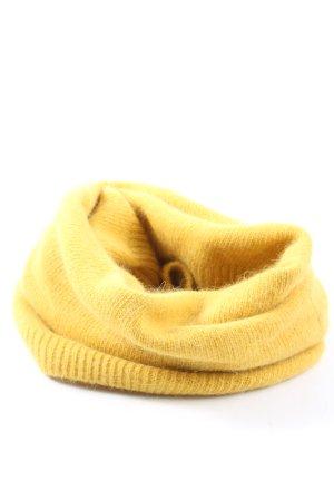 H&M Sciarpone giallo pallido stile casual