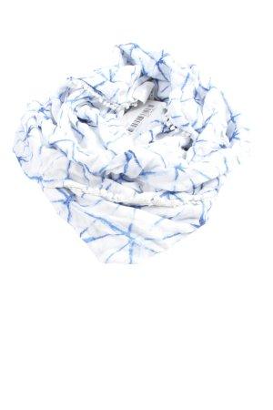 H&M Caperuza blanco-azul estampado repetido sobre toda la superficie look casual
