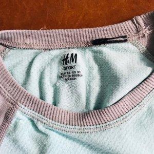 H&M Running Shirt türkis