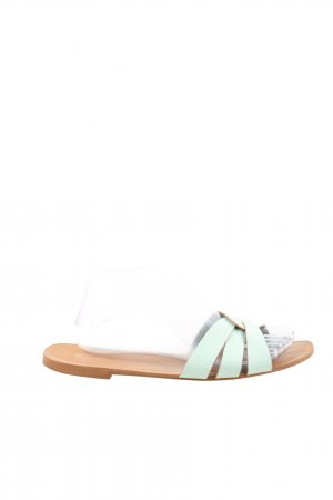 H&M Sandale d'extérieur turquoise style décontracté