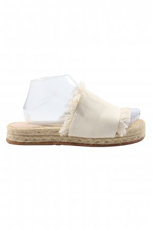 H&M Sabots natural white casual look