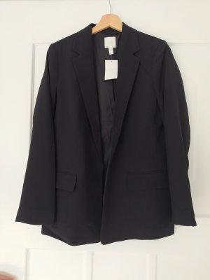 H&M Jersey Blazer black
