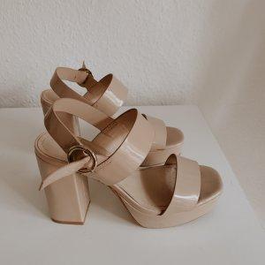 H&M Sandalen beige, wie neu