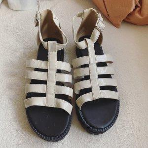H&M Divided Comfort Sandals natural white-cream