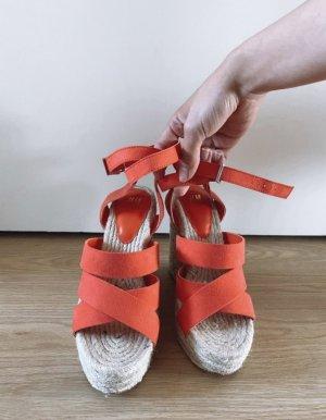 H&M Sandalen Keilabsatz Größe 36 neu