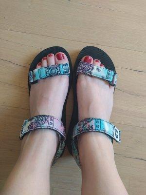 H&M Divided Platform High-Heeled Sandal multicolored