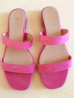 H&M Sandaletten pink, Gr. 39