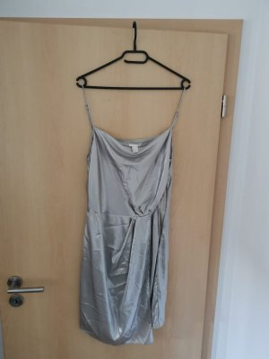 H&M Cocktail Dress silver-colored