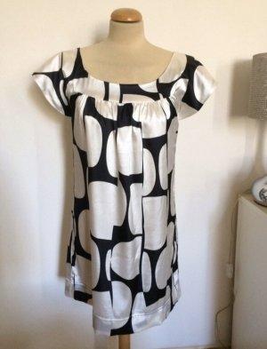 H&M Satin Tunika Kleid Blusenkleid Gr 36