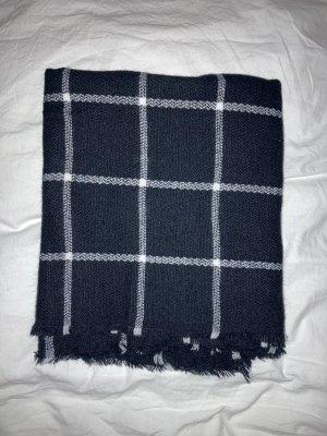 H&M Woolen Scarf black-white