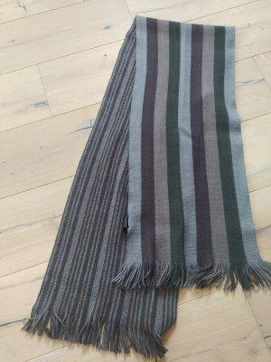 H&M Schal gestreift Herbstfarbe Streifen Fransen