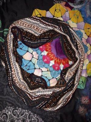 H&M Bufanda de punto multicolor