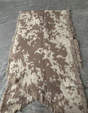 H&M Sciarpa con frange beige-bianco sporco
