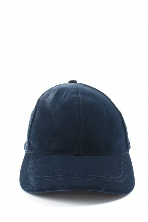 H&M Visor Cap blue casual look