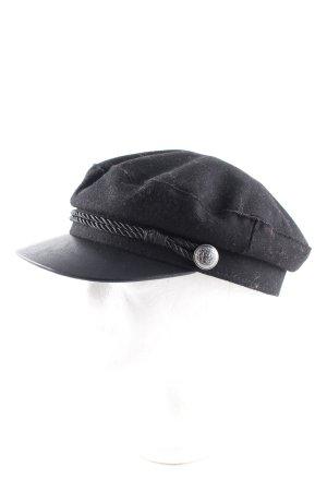 H&M Cappello con visiera nero stile casual