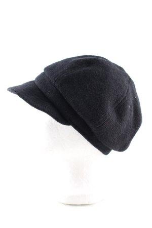 H&M Cappello con visiera nero stile professionale