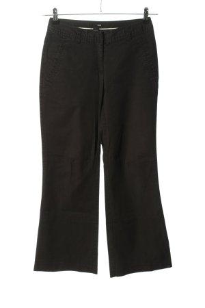 H&M Pantalon pattes d'éléphant noir style décontracté