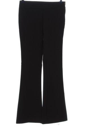 H&M Pantalon pattes d'éléphant noir style d'affaires