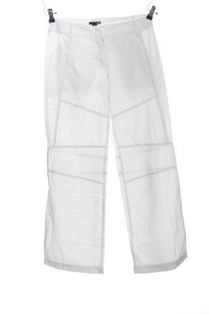 H&M Pantalon pattes d'éléphant blanc style décontracté