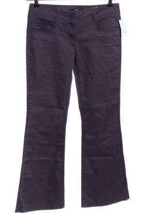 H&M Pantalone a zampa d'elefante nero stile casual