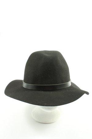H&M Miękki kapelusz z szerokim opuszczonym rondem czarny W stylu casual
