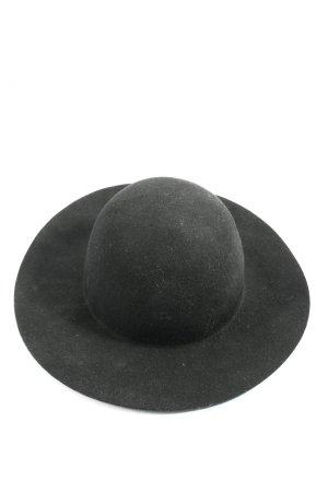 H&M Cappello a falde larghe nero stile casual