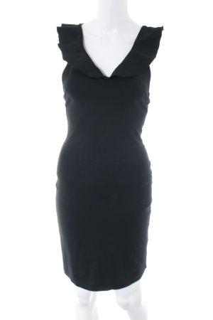 H&M Schlauchkleid schwarz Elegant