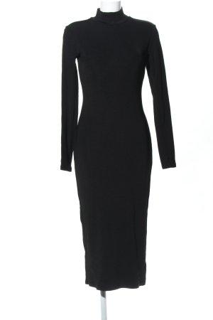 H&M Schlauchkleid schwarz Casual-Look