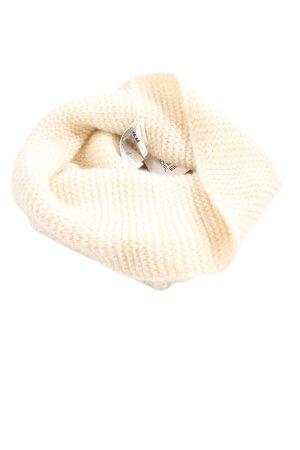 H&M Bufanda tubo crema look casual