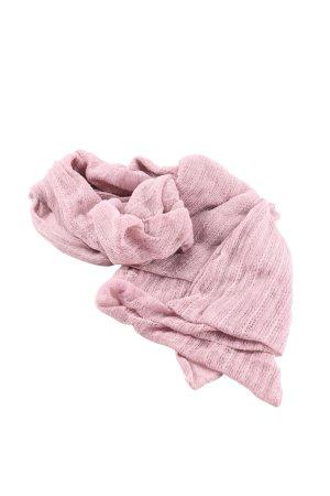 H&M Schlauchschal pink Streifenmuster Casual-Look