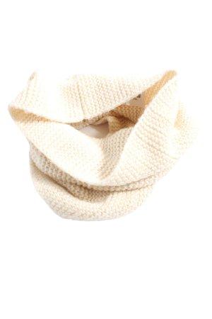 H&M Bufanda tubo blanco puro look casual