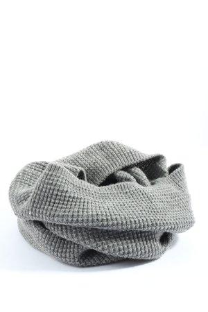 H&M Bufanda tubo gris claro estilo «business»