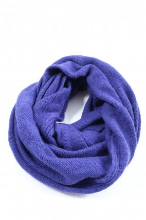 H&M Tube Scarf lilac cable stitch casual look