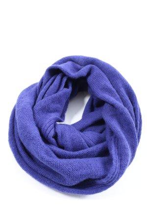 H&M Écharpe tube violet torsades style décontracté