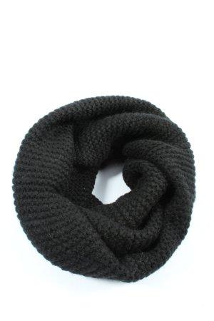 H&M Bufanda tubo negro look casual