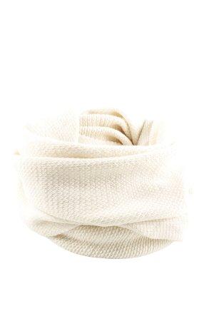 H&M Tubesjaal wolwit kabel steek casual uitstraling