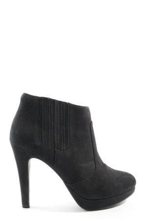 H&M Slip-on laarzen zwart casual uitstraling