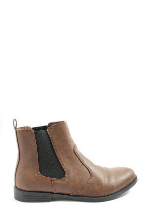H&M Slip-on laarzen bruin casual uitstraling