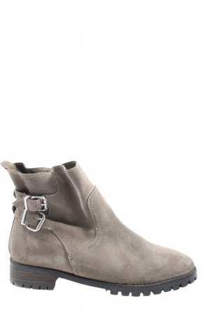 H&M Schlüpf-Stiefeletten hellgrau Casual-Look