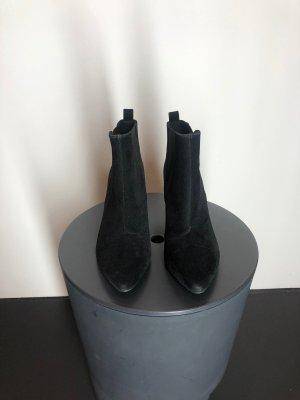 H&M Schlüpf-Stiefeletten, schwarz