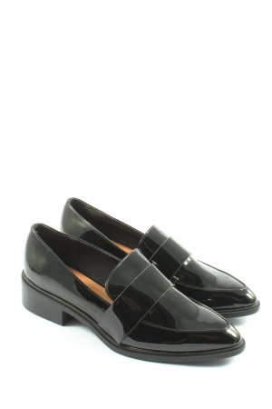 H&M Slip-on Shoes black business style