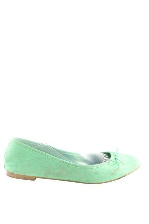 H&M Schlüpfschuhe grün Casual-Look
