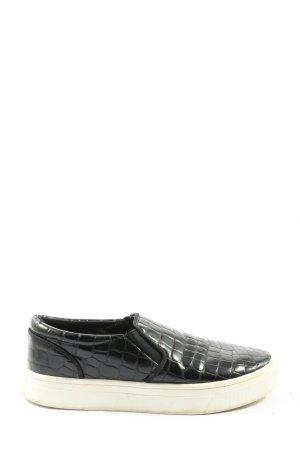 H&M Schlüpfsneaker schwarz Casual-Look