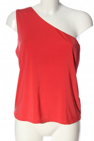 H&M One Shoulder Top red casual look
