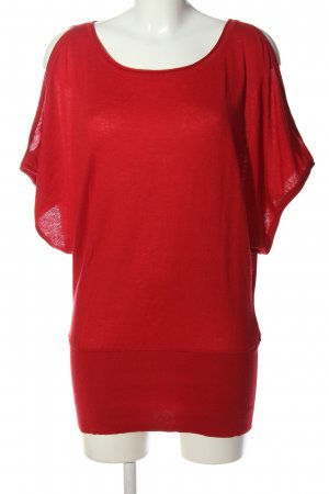 H&M Schlupf-Bluse rot Business-Look