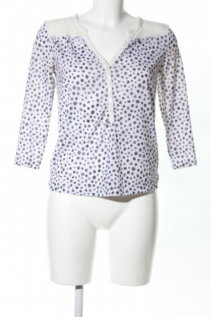 H&M Schlupf-Bluse Allover-Druck Casual-Look